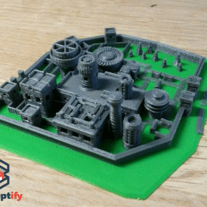 Winterfell (Game of Thrones) par impression 3D