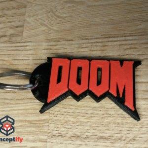 Porte clefs DOOM réalisé en impression 3D