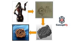 Cosplay Harley Quinn avec une imprimante 3D