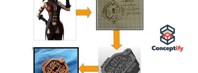 Création d'un accessoire de cosplay par impression 3D