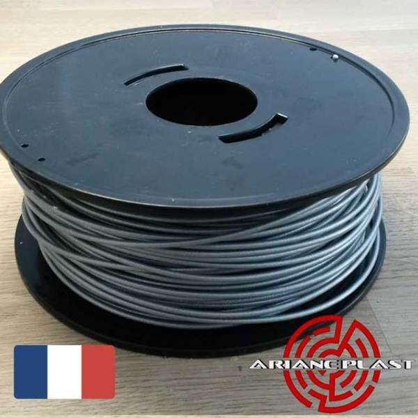 Filament Arianeplast Gris métallisé pour Imprimante 3D fabriqué en France