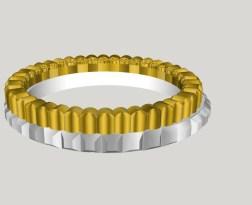 Prototype de bague pour bijouterie-Impression 3D