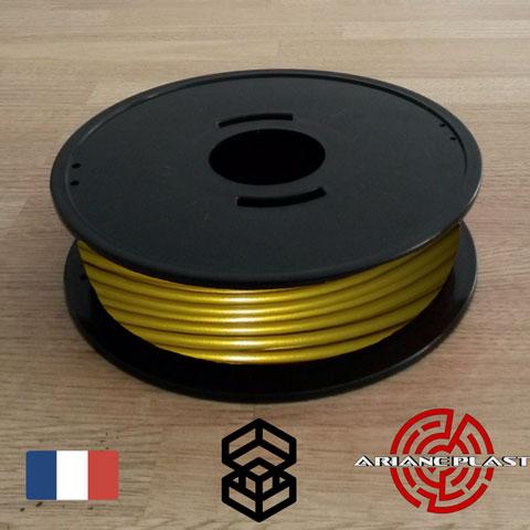 Filament PLA couleur bronze Arianeplast pour imprimante 3D