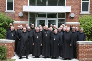 Conception Abbey hosts Benedictine monks congress.
