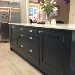 Kitchen Pull Out Drawers Makeovers Ideas Partridge Grey & Charcoal - Concept Kitchens