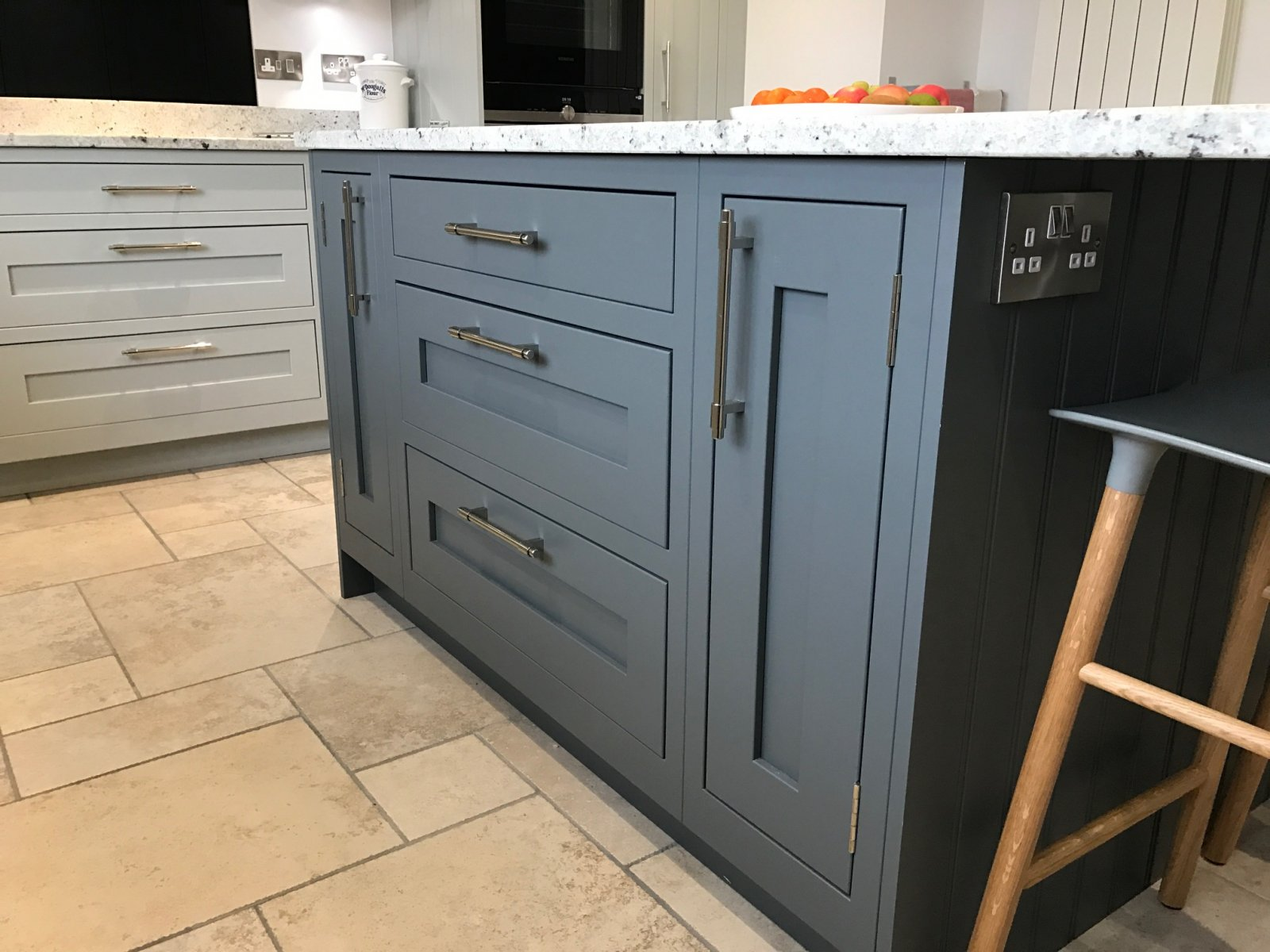 1909 Shaker Partridge Grey  Slate  Concept Kitchens