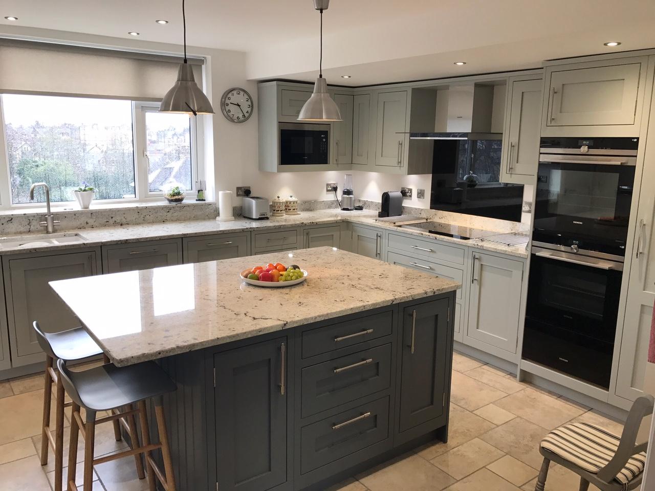 1909 Shaker Partridge Grey  Slate  Concept Kitchens