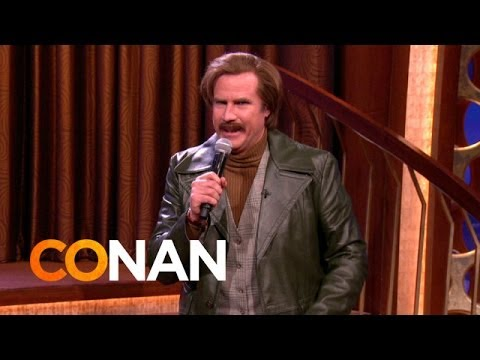 Ron Burgundy – 'Working For The Weekend' (Loverboy cover)