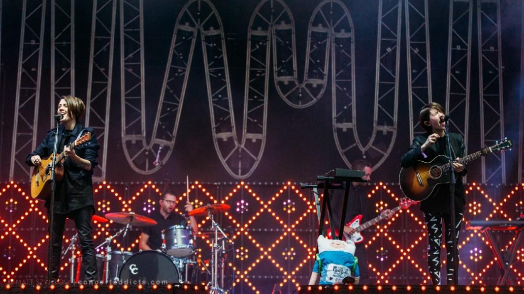 Tegan and Sara at Clagary X-Fest © Matt Szymkow