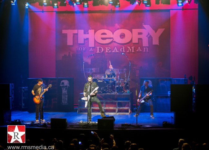 Theory of a Deadman @ McPherson Playhouse © Rob Porter