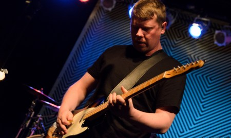 Adam Thompson of We Were Promised Jetpacks at Cats Cradle © Dan Kulpa
