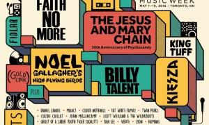 Canadian Music Week Announces Headlining Performers 2015