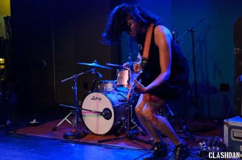 Shana Cleveland of La Luz @ Kings Barcade © Dan Kulpa