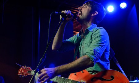 Adam Turla of Murder By Death at Kings Barcade © Dan Kulpa