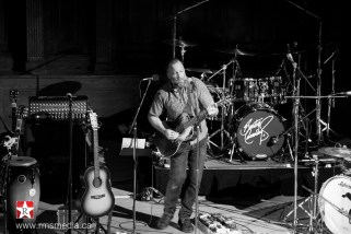 Wil at the Alix Goolden Performance Hall © Rob Porter