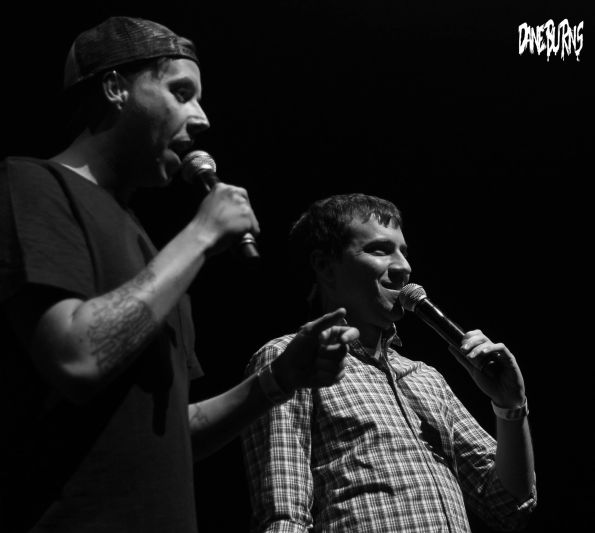 Grant Cotter + Eli Olsberg @ Club Nokia © Dane Burns