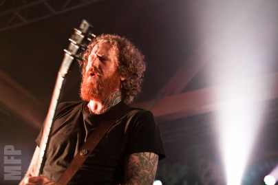 Brent Hinds of Mastodon at Showbox SODO © Michael Ford