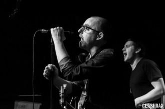 Tom May and Greg Barnett of The Menzingers at Local 506 © Dan Kulpa