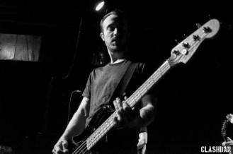 Eric Keen of The Menzingers at Local 506 © Dan Kulpa