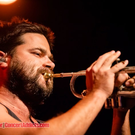 Harry James Angus of The Cat Empire @ Commodore Ballroom Vancouver © Jamie Taylor