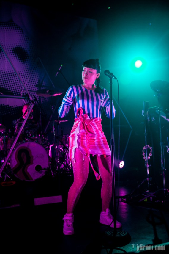 Little Dragon at Flames Central © J. Dirom