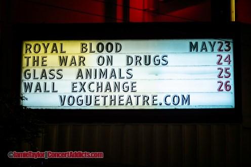 Royal Blood @ The Vogue Theatre Vancouver © Jamie Taylor