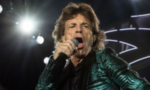 Mick Jagger of Rolling Stones performing at Bobby Dodd Stadium in Atlanta, GA on June 9th 2015 - by Hillery Terenzi