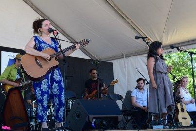 Frazey Ford and Caroline Ballhorn @ Vancouver Folk Festival © Hannah Siden