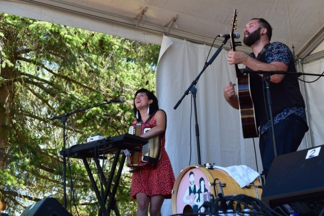 Fortunate Ones @ Vancouver Folk Festival © Hannah Siden