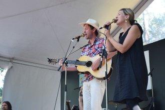 Matthew Barber and Jill Barber @ Vancouver Folk Festival © Hannah Siden