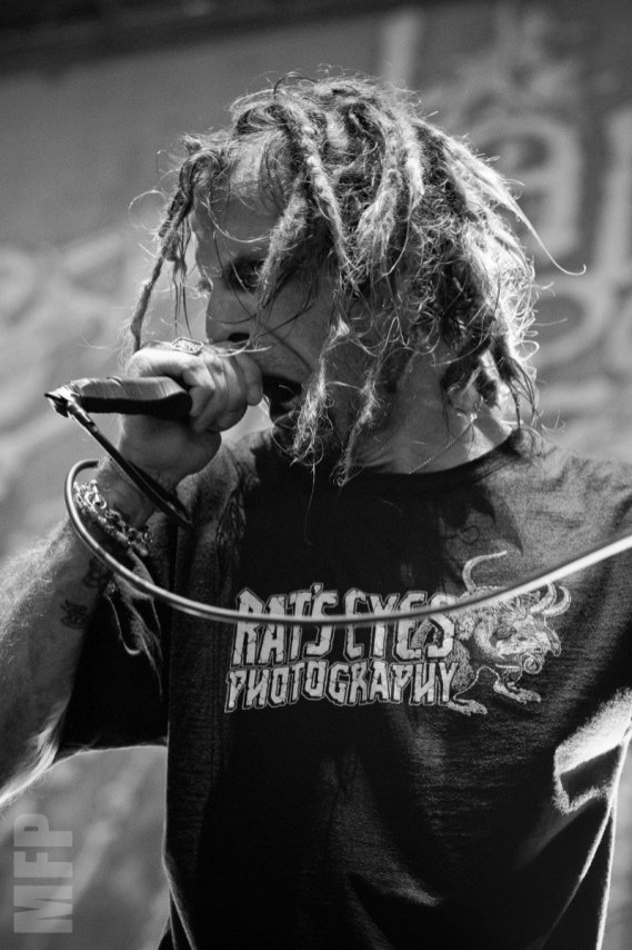 Randy Blythe of Lamb of God at White River Amphitheatre © Michael Ford