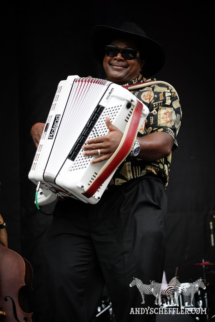 Nathan & The Zydeco Cha-Chas @ Burnaby Blues & Roots - Aug. 08, 2015 © Andy Scheffler