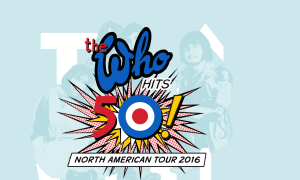 the who hits to north american tour 2015 poster concertaddicts