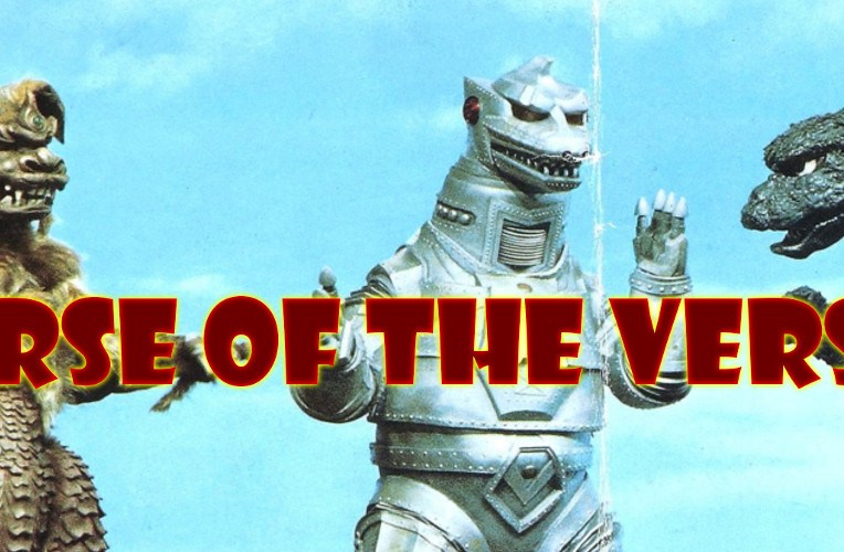 Godzilla vs. Mechagodzilla (1974) poster review podcast curse of the versus
