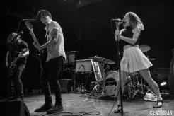 July Talk @ The Bowery Ballroom © Dan Kulpa