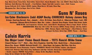 Coachella Valley Music and Arts Festival 2016 lineup poster concertaddicts