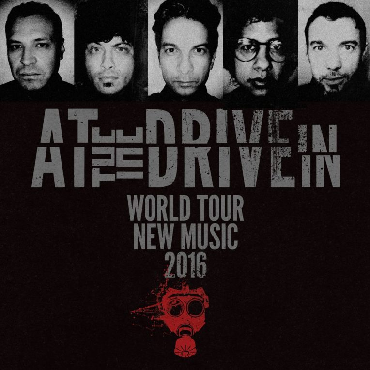 at the drive in 2016 reunion tour poster