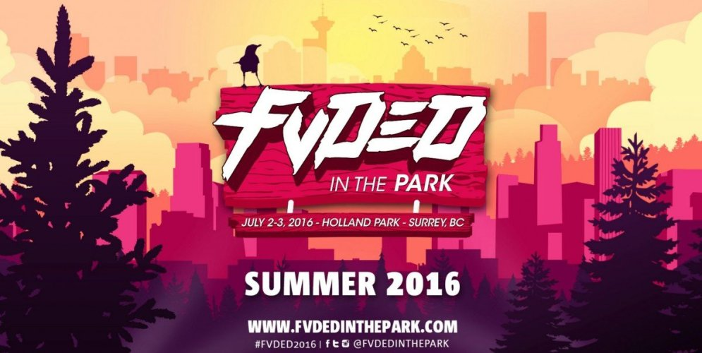 fvded in the park july2 3 2016 holland park surrey bc poster lineup