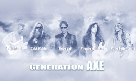 Generation Axe ft. Steve Vai, Zakk Wylde, Yngwie Malmsteen, Nuno Bettencourt, and Tosin Abasi at Queen Elizabeth Theatre