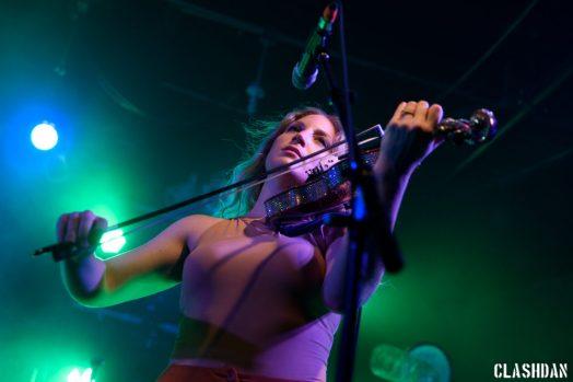 Rebecca Zeller of Ra Ra Riot @ Cat's Cradle © Dan Kulpa