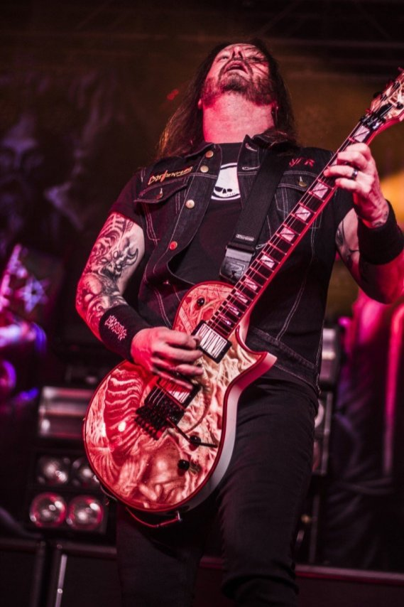 Gary Holt of Slayer @ The Ritz in Raleigh, North Carolina © Masen Smith