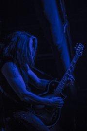 Alex Skolnick of Testament @ The Ritz in Raleigh, North Carolina © Masen Smith