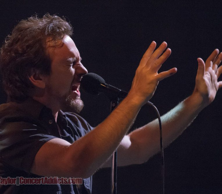 Eddie Vedder of Pearl Jam at Rogers Arena Vancouver