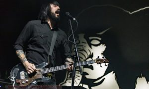 Jesse F. Keeler of Death From Above 1979 @ PNE Forum Vancouver © Jamie Taylor