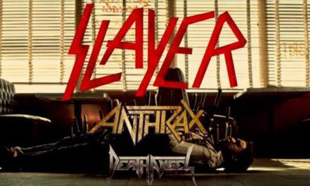 slayer anthrax death angel tour poster 2016