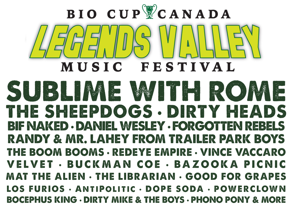 LEGENDS VALLEY MUSIC FESTIVAL ANNOUNCES INAUGURAL LINE-UP poster 2016