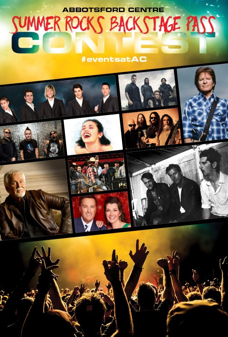 Abbotsford Centre Launches Summer Rocks Backstage Pass Contest
