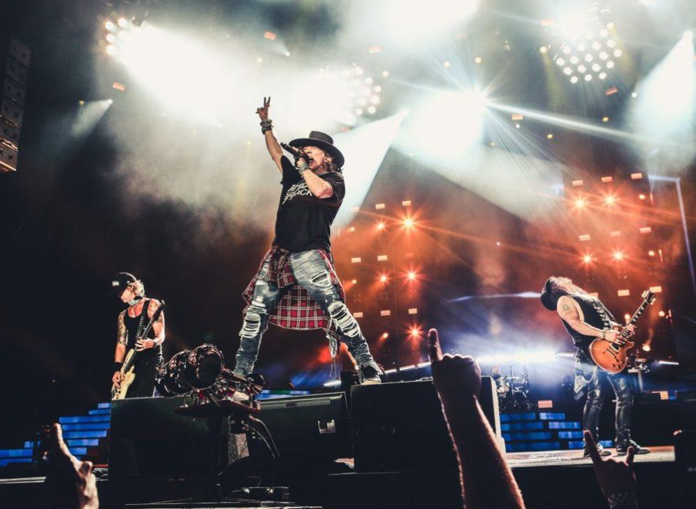 Guns N Roses seattle centurylink field august 12 2016