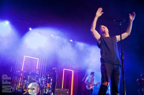 Fitz and the Tantrums at Marymoor Park © Michael Ford
