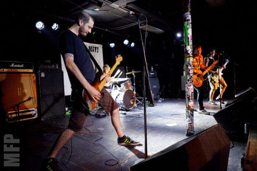 Direct Hit! at El Corazon © Michael Ford